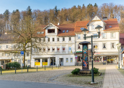 Haus mit Marktplatz in Bad Grund